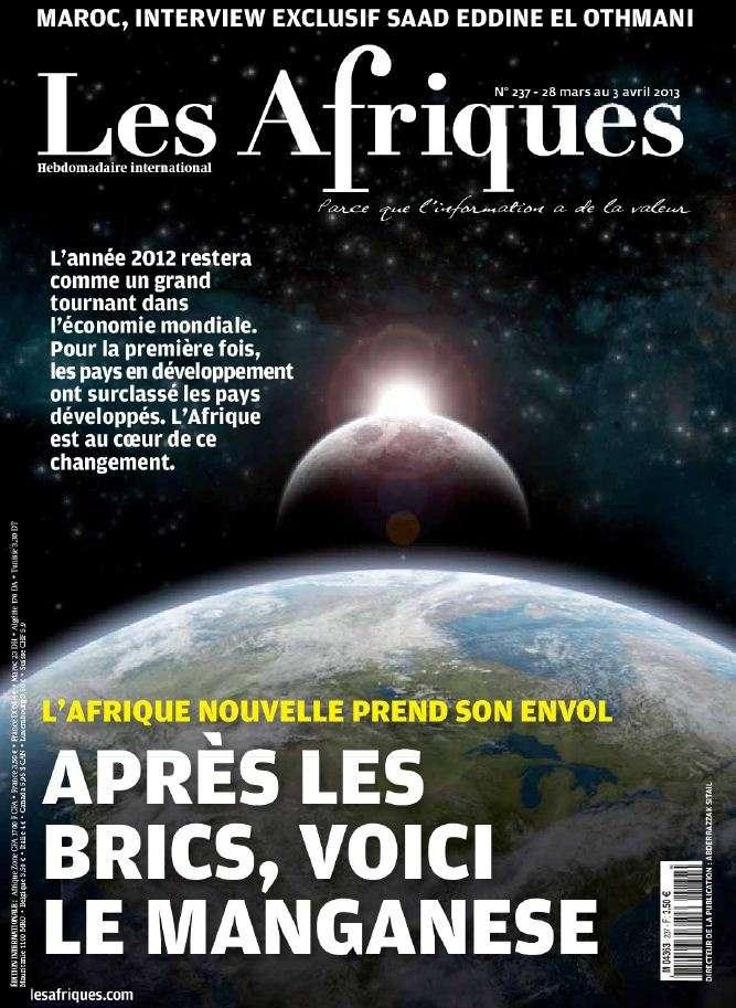Les Afriques N°237 du 28 Mars au 3 Avril 2013