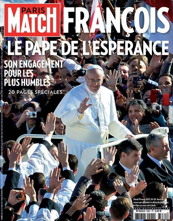 Paris Match N°3331 du 21 au 27 Mars 2013