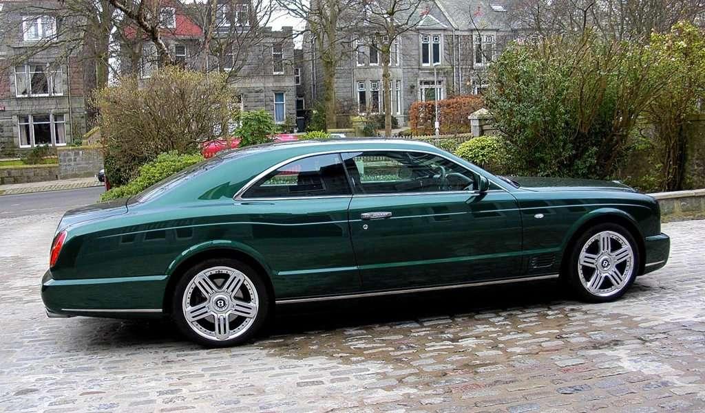 Power Cars Bentley Brooklands